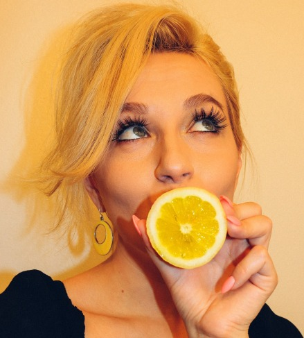 jus de citron peau
